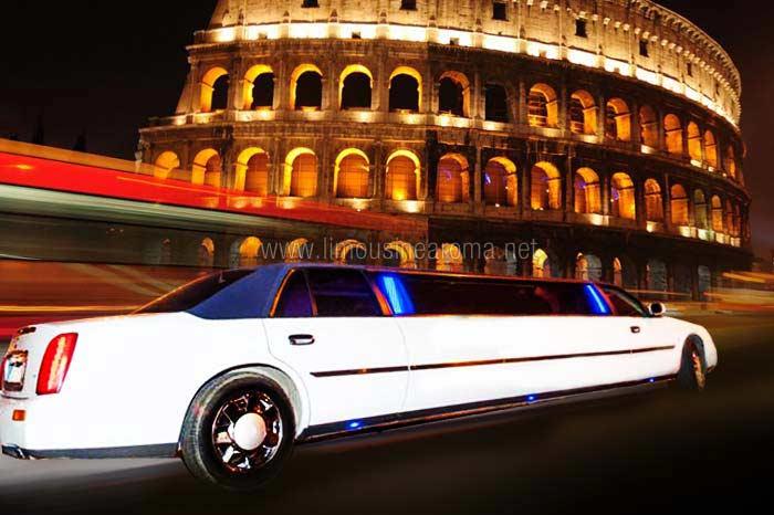 Noleggio cadillac limousine roma bianca affitto cadillac for Affitto a ore roma