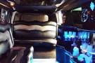 interno Limousine Hummer Bianca
