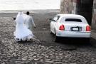 Limousine Bianca Matrimonio Roma