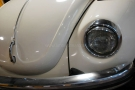 Maggiolone Bianco Cabrio Matrimonio Roma