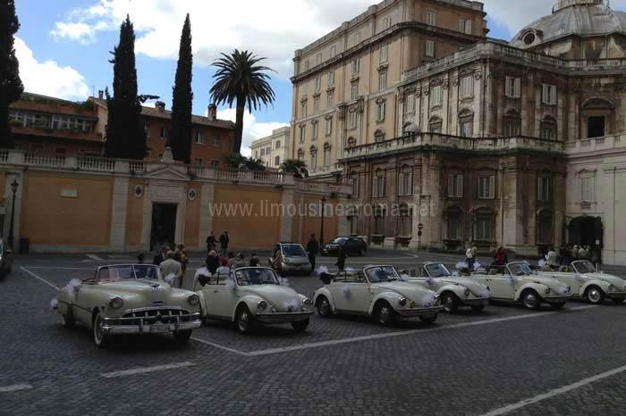 Noleggio maggiolone cabrio roma bianco auto d epoca per for Noleggio arredi roma