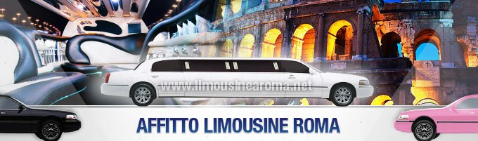 affitto limousine a roma