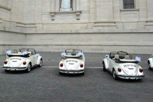 Foto Maggiolone Bianco Cabrio