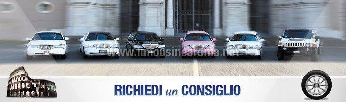 consiglio noleggio limousine roma