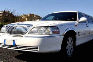 Limousine Bianca Roma Lincoln