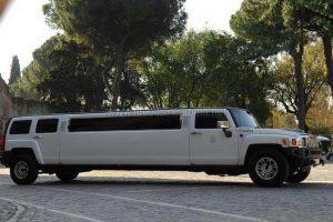 Noleggio Hummer Limousine Bianca
