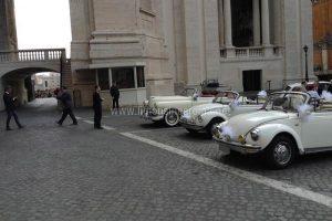 Maggiolone Bianco Cabrio Auto D'epoca