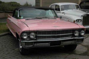 Noleggio Cadillac Eldorado Rosa Roma