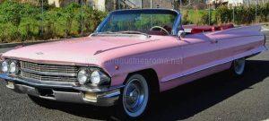 Affitto Cadillac Eldorado Rosa Roma