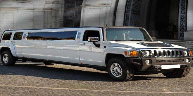 Noleggio Hummer Limousine Bianca Roma