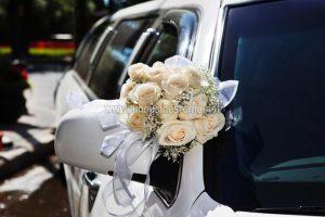 Foto Lincoln Limousine Bianca Roma