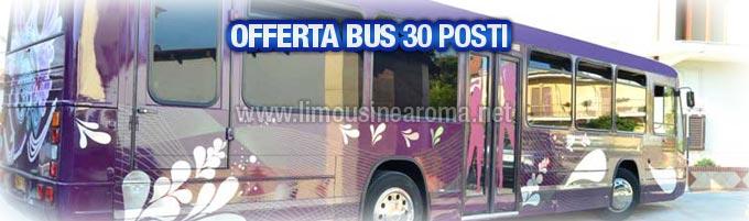 offerta noleggio bus 30 posti