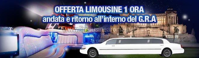 Offerta noleggio limousine di 1 ora