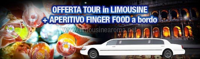 Offerta Limousine con Aperitivo Finger Food