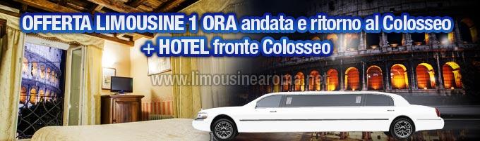 Offerta Limousine con Hotel fronte Colosseo
