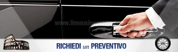 preventivo noleggio limousine roma