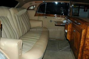 Rolls Royce Silver Wraith Roma Interni