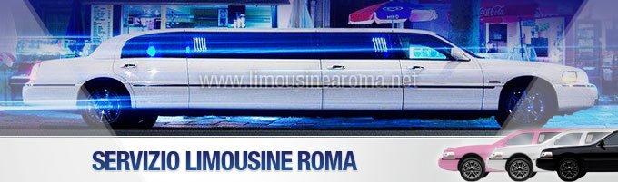 servizio in limousine a roma