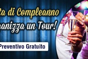 tour per feste di compleanno a roma