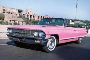 Cadillac Eldorado Rosa per Matrimonio