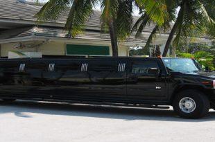 Hummer Limousine Nera Roma