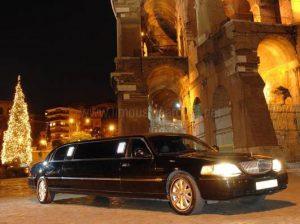 Limousine Nera Matrimonio Roma