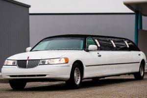 Lincoln Limousine Bianca Tetto Nero