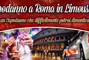 capodanno limousine roma