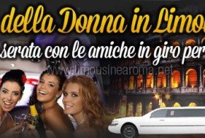 Festa della Donna Limousine Roma