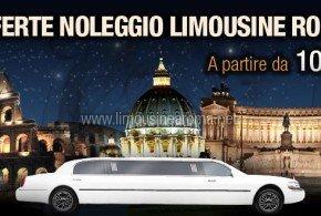 offerte per noleggio limousine a roma